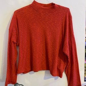 Orange/Red Long Sleeve Top
